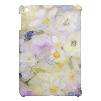 Frozen flowers iPad mini cover