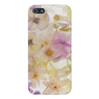 Frozen flowers iPhone 5 cover