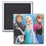 Frozen Group Fridge Magnet