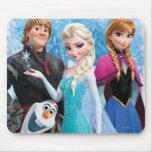 Frozen Group Mousepad