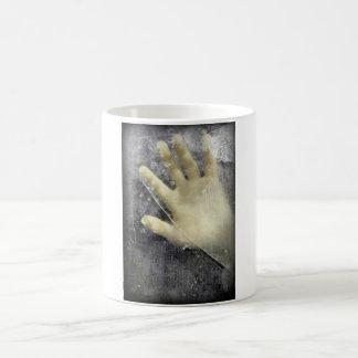Frozen hand design coffee mug