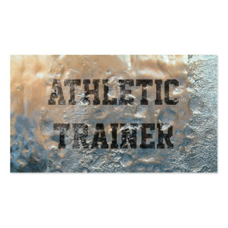Frozen Ice Athletic Trainer Business Card