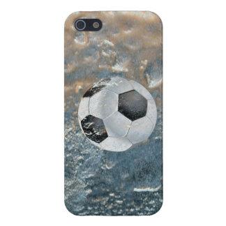 Frozen in Ice Soccer Ball Sport iPhone 5 Case