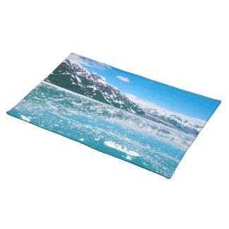 Frozen lake Alaska Placemat