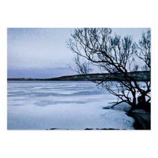 Frozen Lake ATC Pack Of Chubby Business Cards