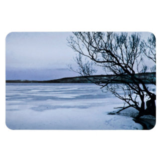 Frozen Lake Magnet