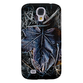 Frozen Leaf and Grass Galaxy S4 Case