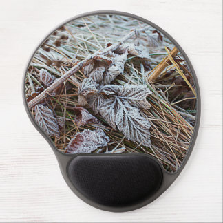 Frozen Leaf Gel Mouse Mat