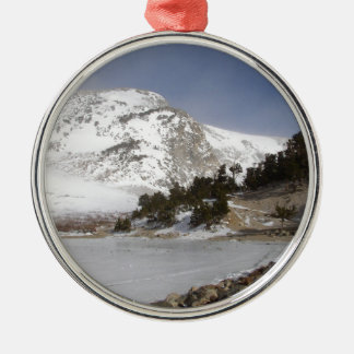 Frozen Mountain Christmas Ornament