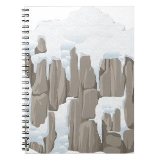 Frozen Mountains Notebooks