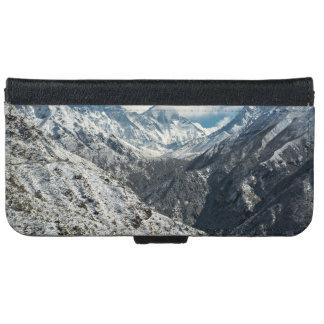 Frozen of Great mount Everest iPhone 6 Wallet Case