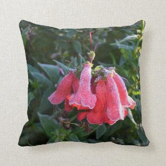 Frozen Petals, throw cushion