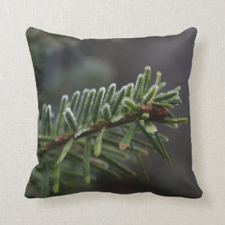 Frozen Pine Tree Cushion