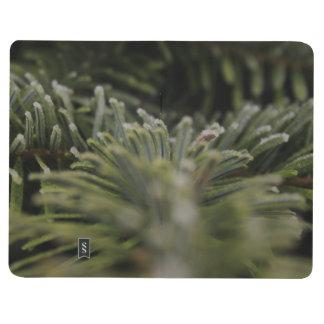 Frozen Pine Tree Journal