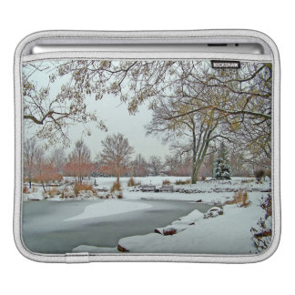 Frozen Pond iPad Sleeve