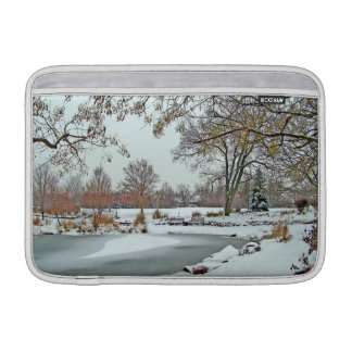 Frozen Pond Sleeve For MacBook Air