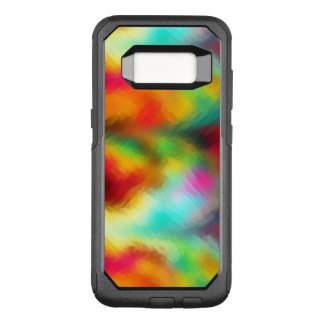 Frozen Rainbow Abstract Pattern OtterBox Commuter Samsung Galaxy S8 Case