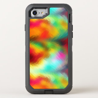 Frozen Rainbow Abstract Pattern OtterBox Defender iPhone 8/7 Case