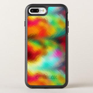 Frozen Rainbow Abstract Pattern OtterBox Symmetry iPhone 8 Plus/7 Plus Case
