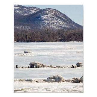 Frozen River Photo Print