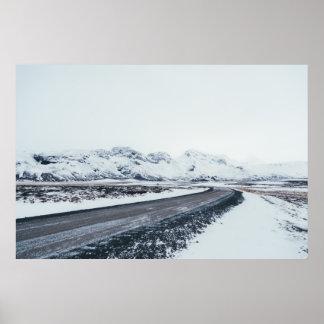 Frozen Road Poster