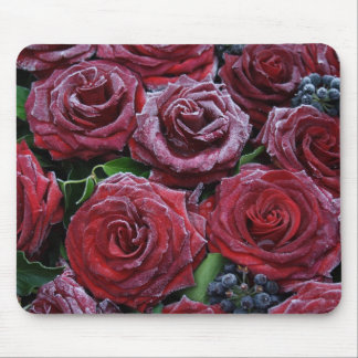 Frozen Roses Mouse Mat
