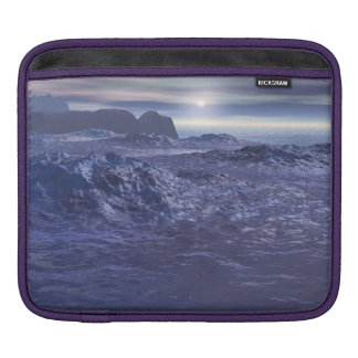 Frozen Sea of Neptune iPad Sleeve