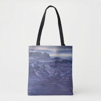Frozen Sea of Neptune Tote Bag