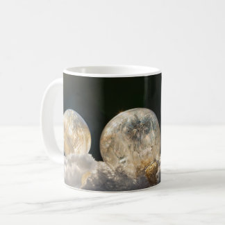 Frozen Soap Bubbles Ice Crystals Winter Nature - Coffee Mug