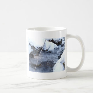 Frozen Stream Basic White Mug