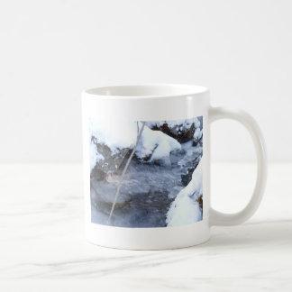 Frozen Stream Coffee Mug