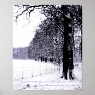 Frozen Tears Poster