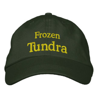 Frozen Tundra Embroidered Hat