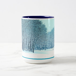 Frozen Two-Tone Coffee Mug