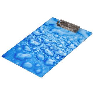 Frozen Water Drops Clipboard