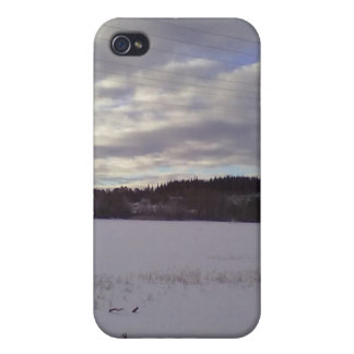 Frozen water nature iPhone 4 cover