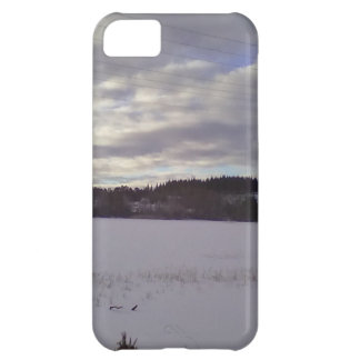 Frozen water nature iPhone 5C case