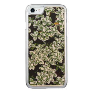 Frozen Winter Plants Carved iPhone 8/7 Case