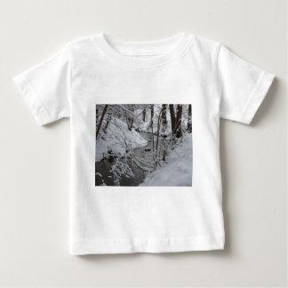 Frozen Winter River Baby T-Shirt