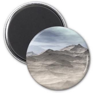 Frozen World 6 Cm Round Magnet