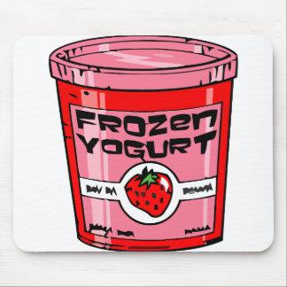 Frozen yogurt mouse mat