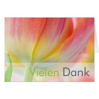Fruehling • Danksagungskarte Greeting Card