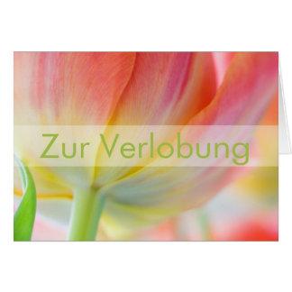 Fruehling • Glueckwunschkarte Verlobung Greeting Card