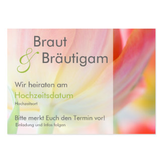 Fruehling • Save the Date Mini Karten Pack Of Chubby Business Cards