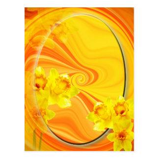 Frühlingsgruß Postkarte