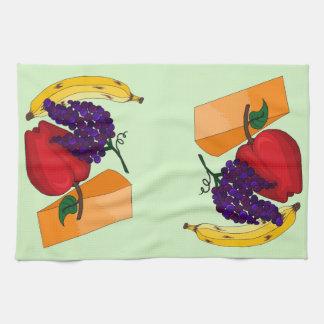 Fruit and Cheese Tea Towel