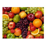 Fruit And More Fruit Postcard