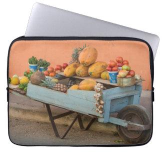 Fruit and vegetable cart, Cuba Laptop Sleeve