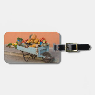 Fruit and vegetable cart, Cuba Luggage Tag