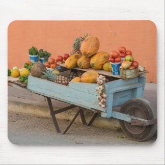 Fruit and vegetable cart, Cuba Mouse Mat